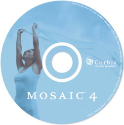 mosaic CD face